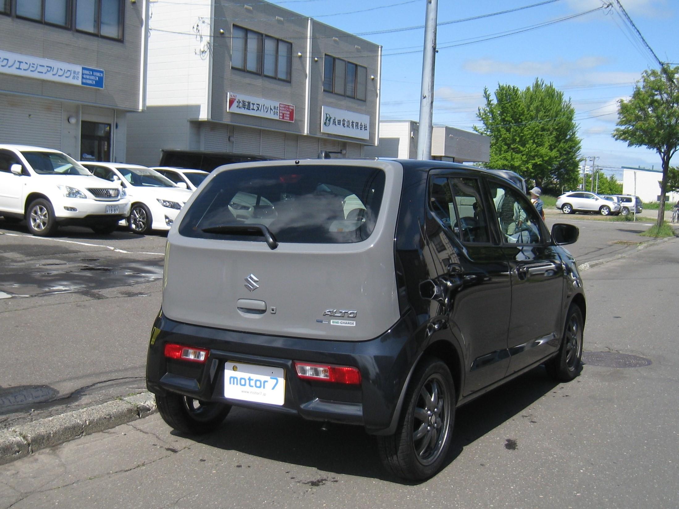 アルト X 4WD ツートンドア 下取車 入庫!