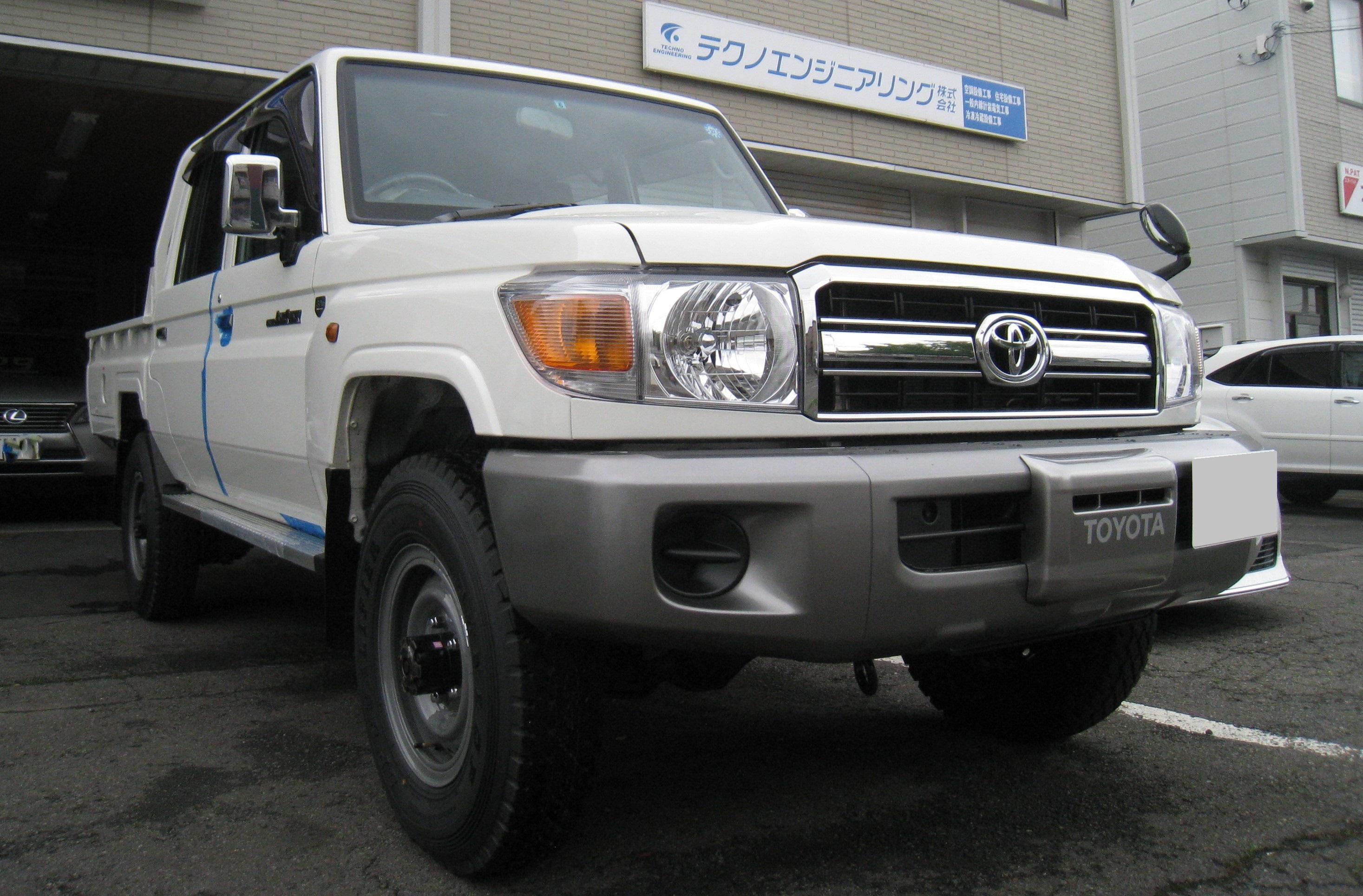 ランクル 79 ピックアップ 4WD 新車入庫!