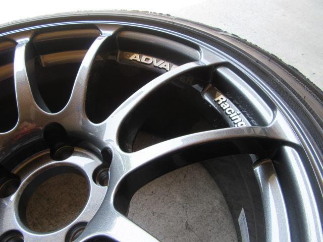 アドバン RS 18インチ アルミホイール ガリ傷 修理!