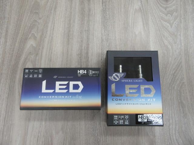 スフィア LED 6000K アルファード用 入荷!