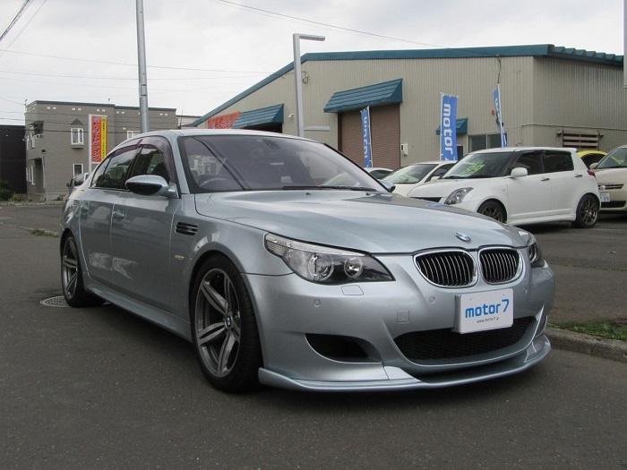 BMW M5 V10 SMGⅢ HAMANNエアロ 車高調 注文販売車 入庫!
