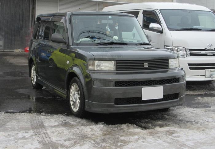 トヨタ bB S 4WD 車検整備 実施!