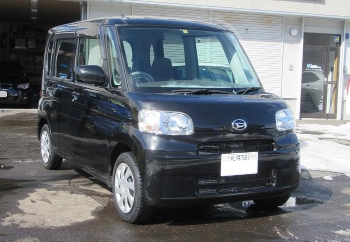 ダイハツ タントX-LTD 4WD 納車♪