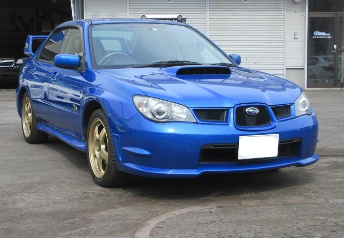 スバル インプレッサ WR‐LTD2005 納車♪