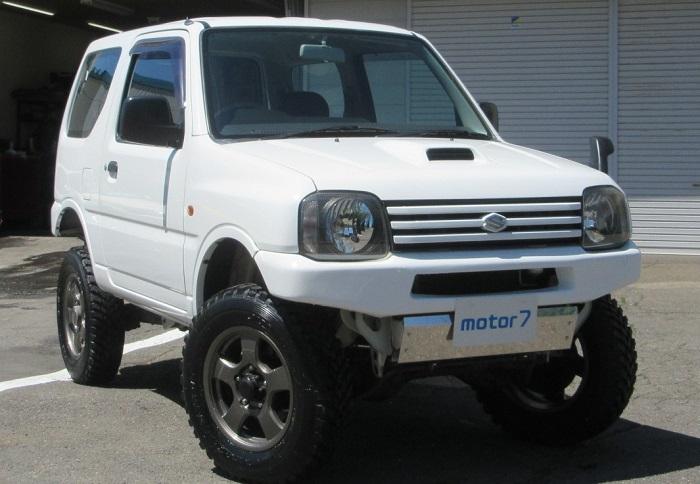 ジムニー XG 4WD リフトアップ 入庫!