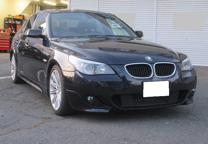 BMW 525i Mスポーツ MOTULオイル交換!